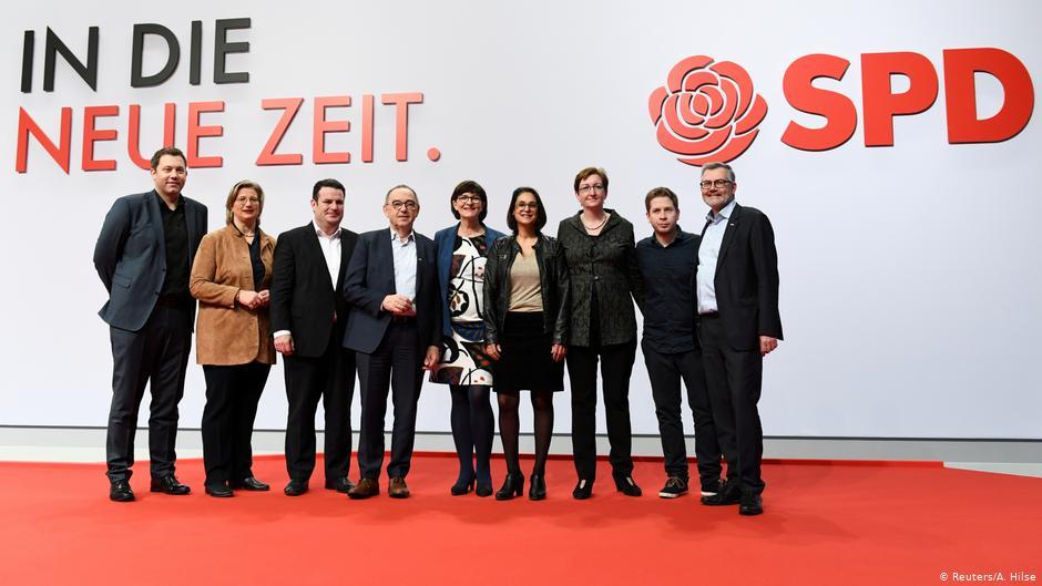 SPD Parteitag Abschluss