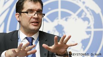 O εισηγητής του ΟΗΕ για τα βασανιστήρια Νιλς Μέλζερ